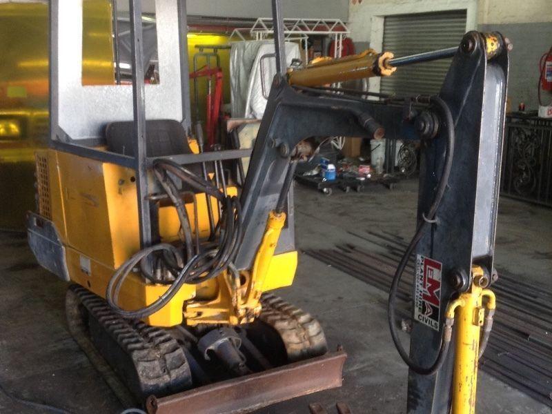 Mini excavator Jcb 801