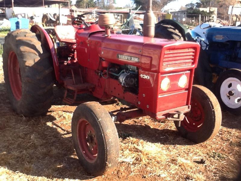 volvo tractor BM 430