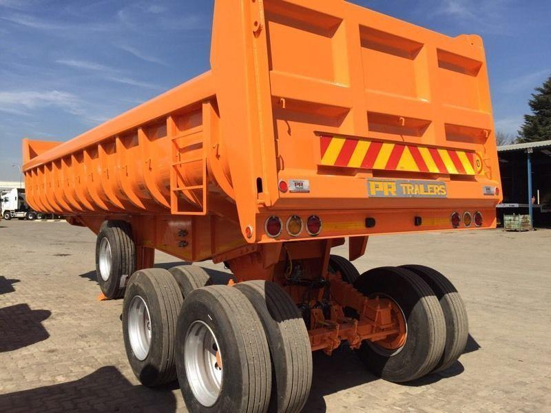 New PR trailer Copelyn tandem end tipper