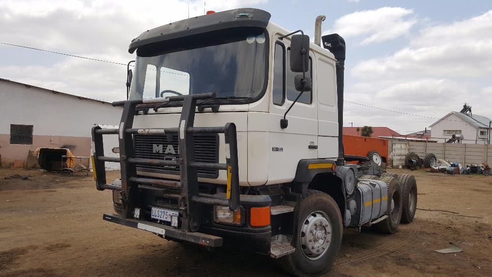 MAN 26 552 Truck Tractor Perd