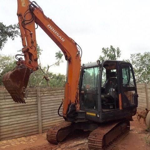 Doosan DX55 Mini Excavator