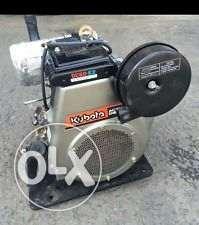 Kubota tractor engine