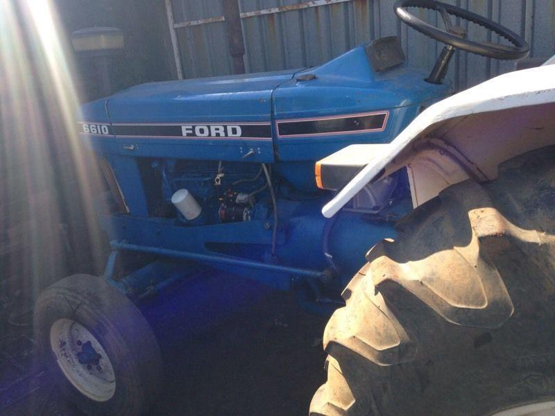 2001 Ford 6610