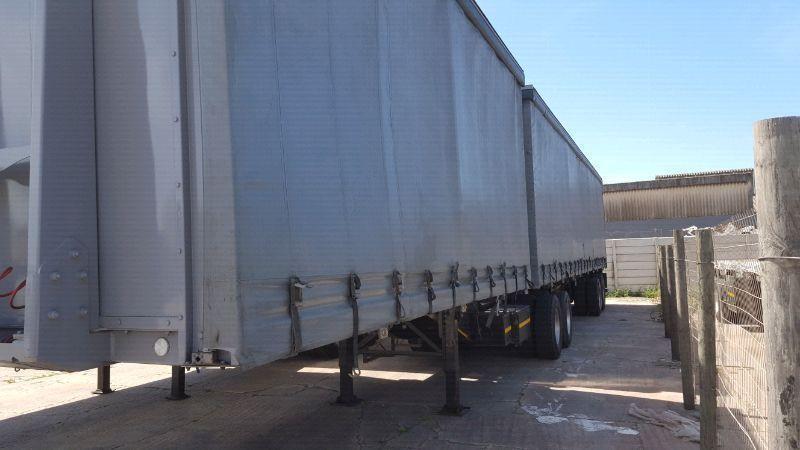 Tautliner superlink trailer