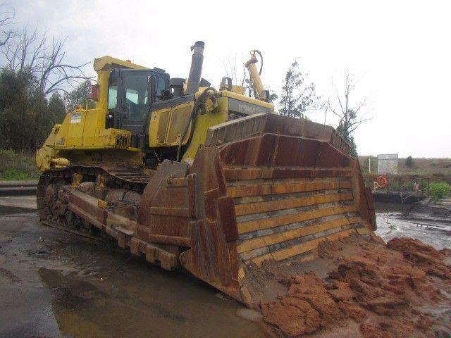 Komatsu 155/375/475 Dozers + Spares - UNRESERVED AUCTION - Thurs 24 Nov @ 10:30 - Nuco AUctioneers