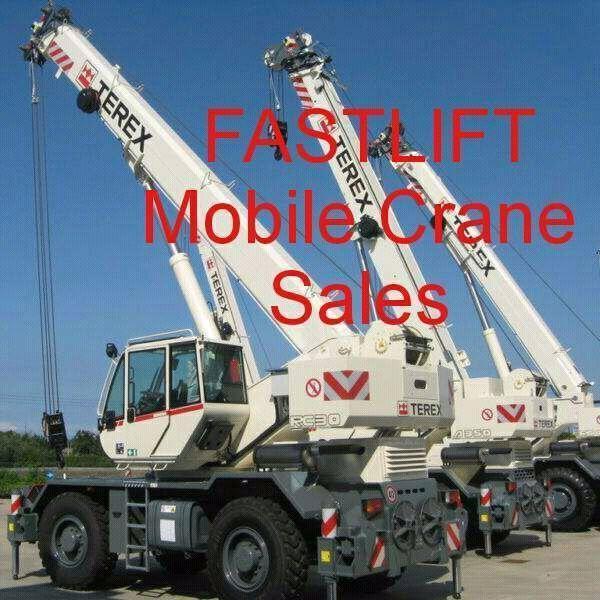 Mobile crane sales