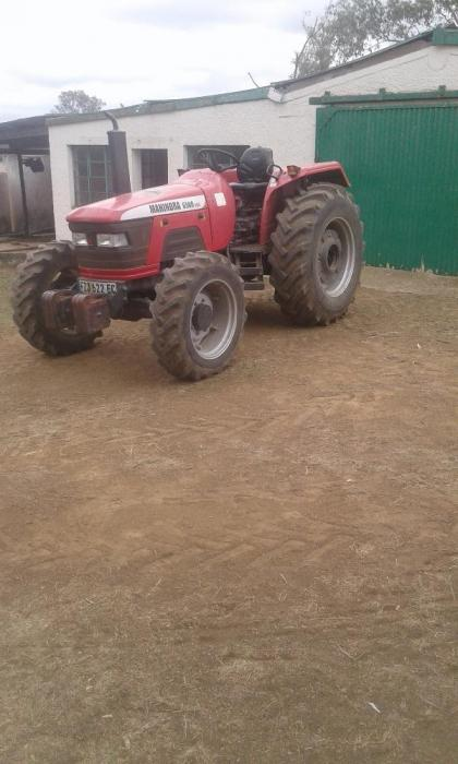We are selling a tractor we are residing in