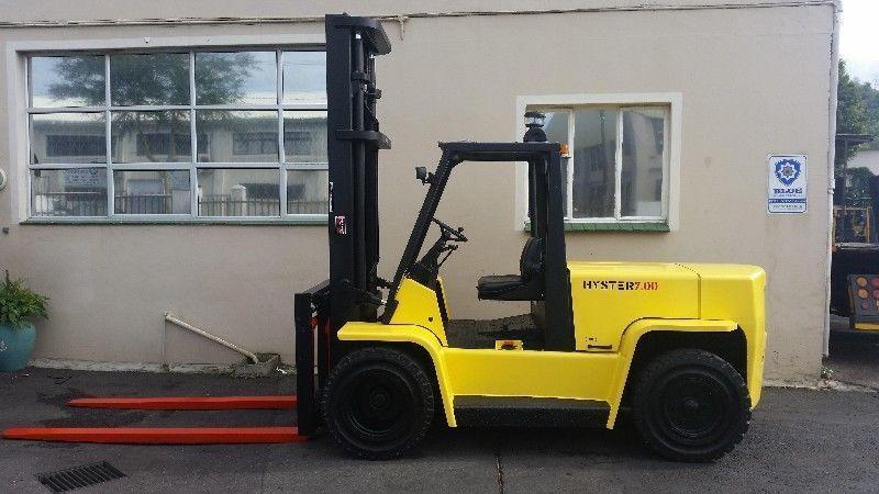 Refurbished 7.0Ton Hyster Forklift