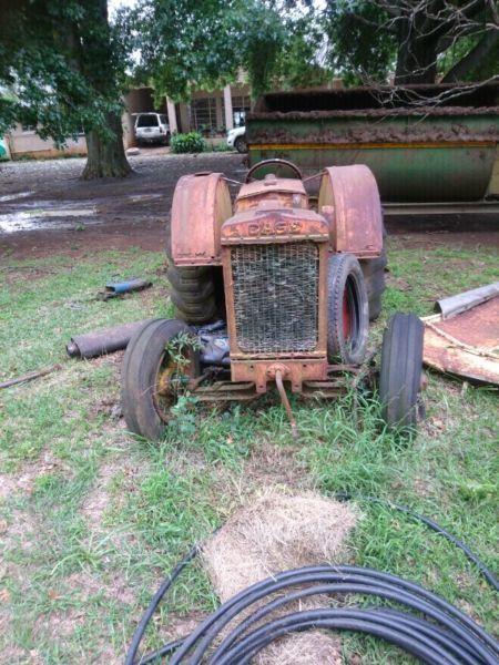 Case c tractor