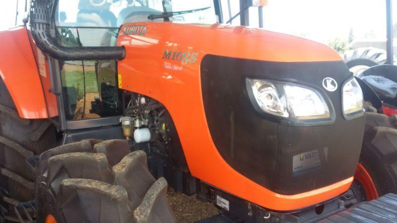 Kubota 108S Tractor
