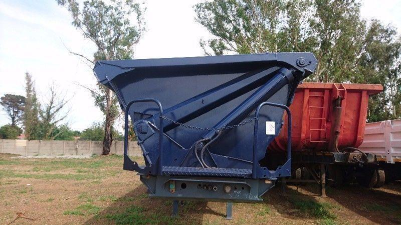 2009 SATB Tri-Axle Side Tipper
