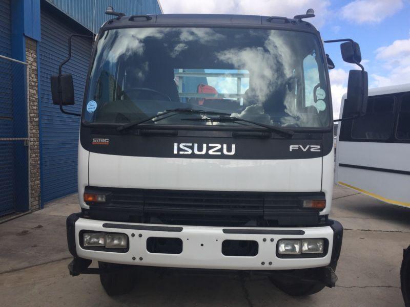 Isuzu fvz1400 crane truck