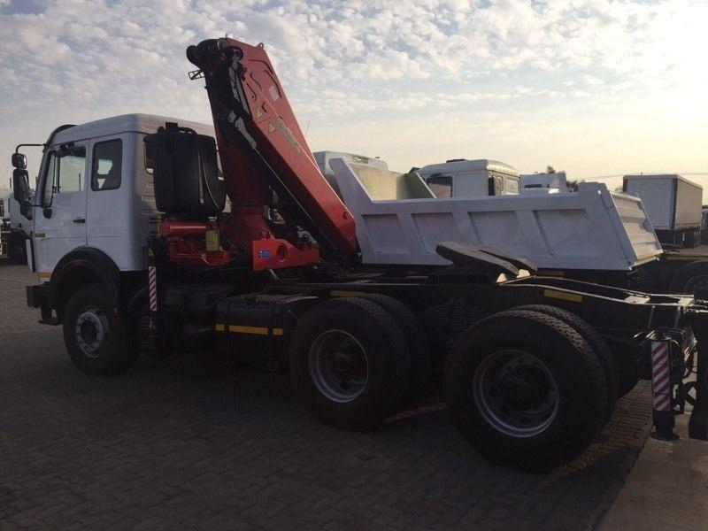 Powerstar 2635 with Fassi F 290 crane