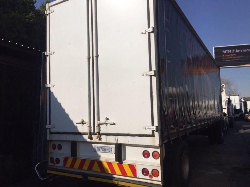 SA Truck 9m drawbar