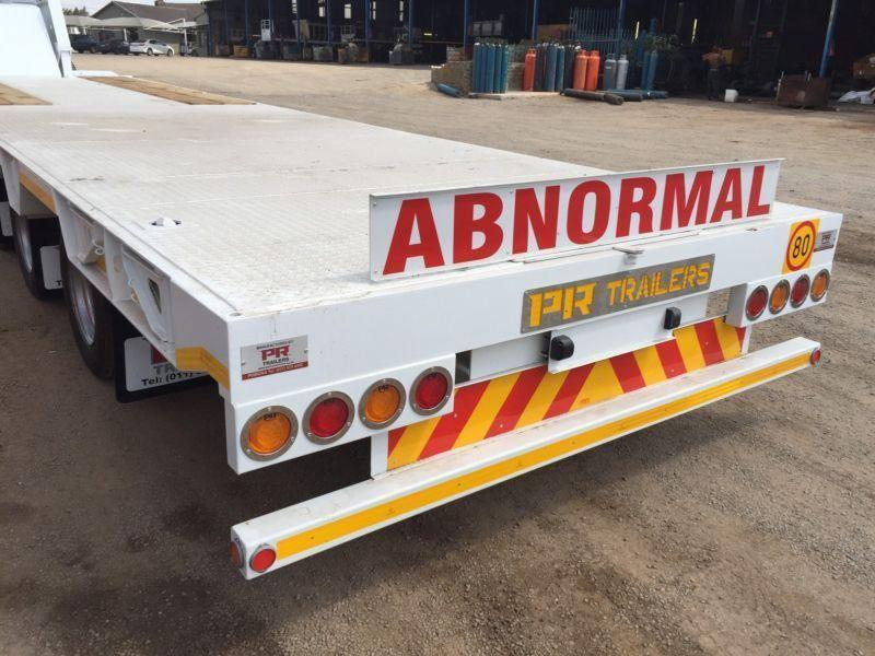 New PR trailer straight deck low bed 40 ton
