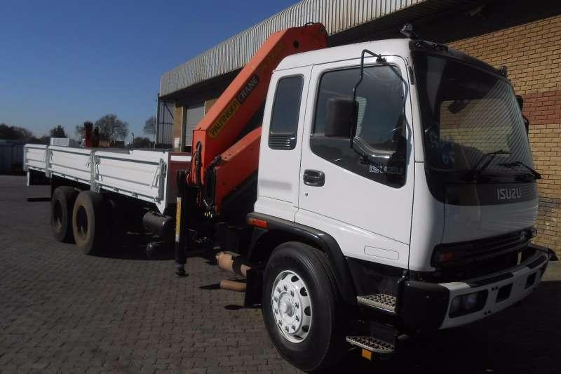 Isuzu Crane truck ISUZU FVZ1400 WITH PK23500 CRANE Truck