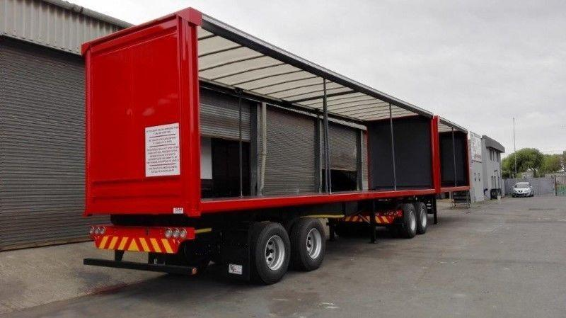 NEW 6.1M / 12.2M Tandem Tautliner Interlink Trailers for sale