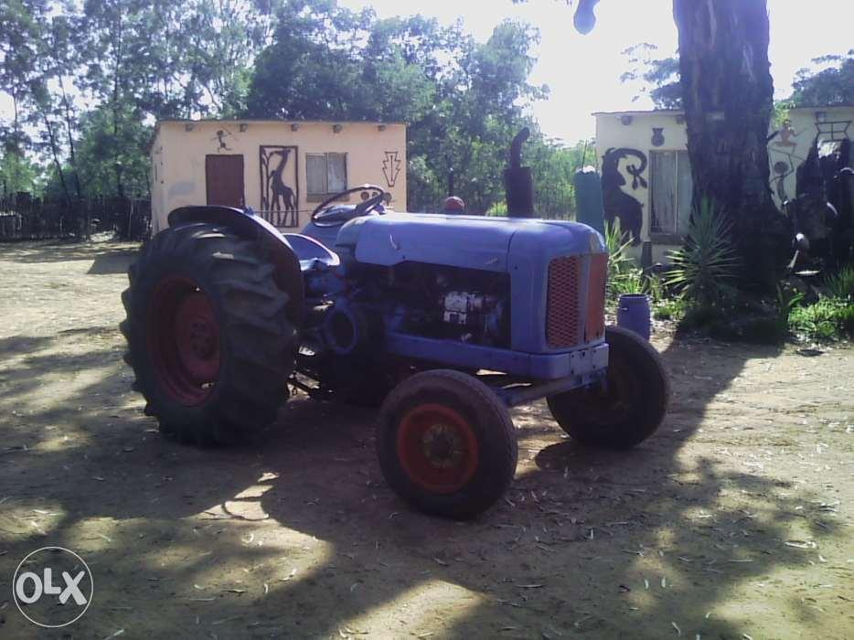 1962 Fordson Major Tractor