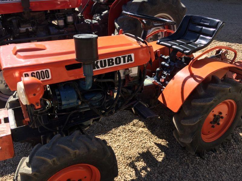 Kubota B6000 Tractor