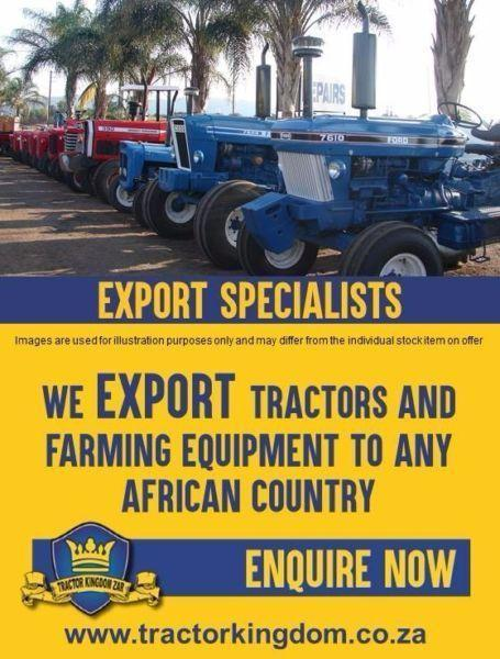 SECOND HAND AND USED TRACTORS