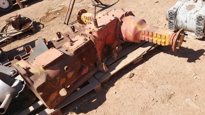 Tractor diff and gearbox