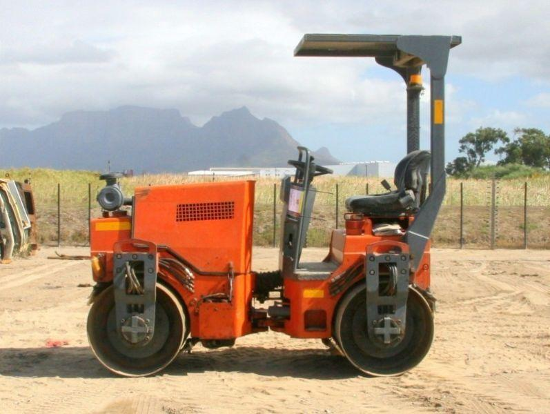 Hamm HD12 Double Drum Roller