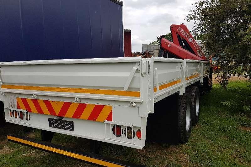Isuzu Crane truck FVZ1400 Fassi F170 & Dropside Truck