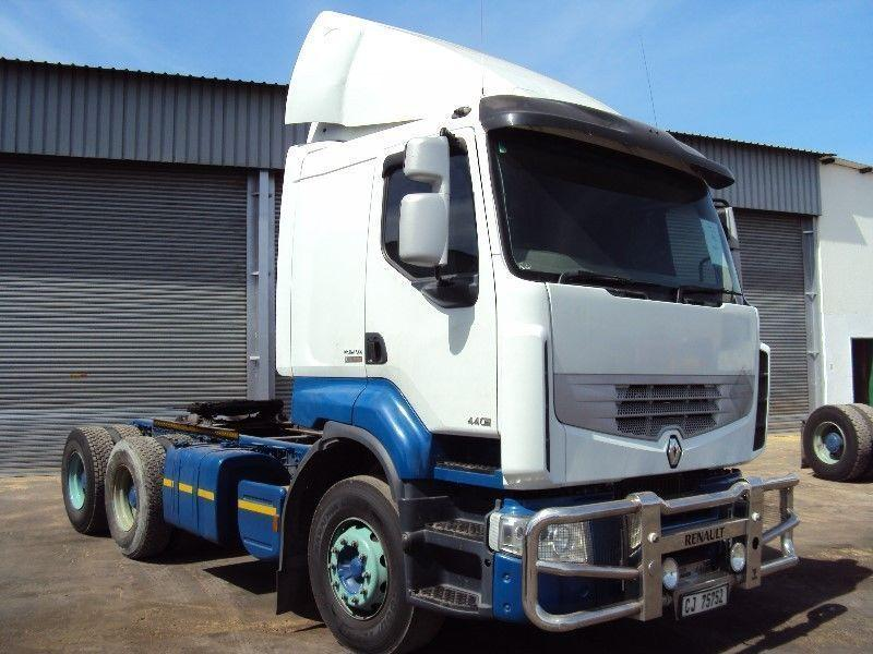 2008 Renault DXI 440 Truck Tractor: