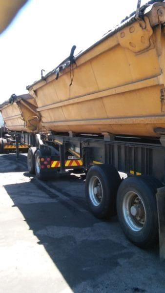 2007 SATB Side Tipper for sale