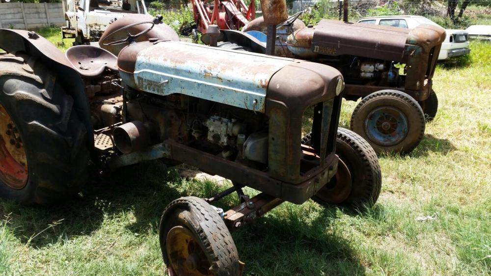 Fordson tractors