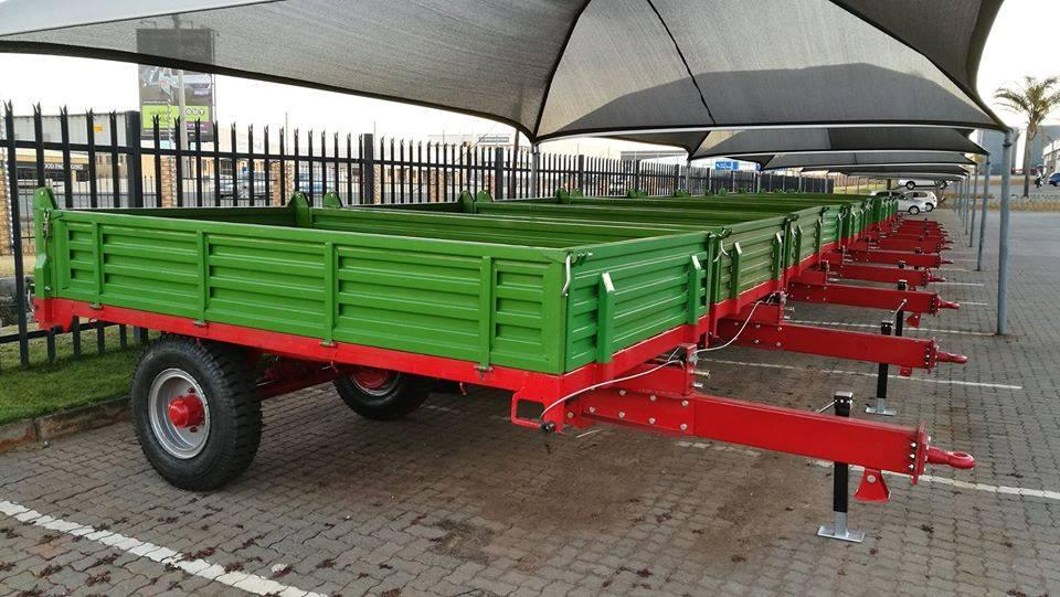 New 5 Ton tip trailer with air brakes