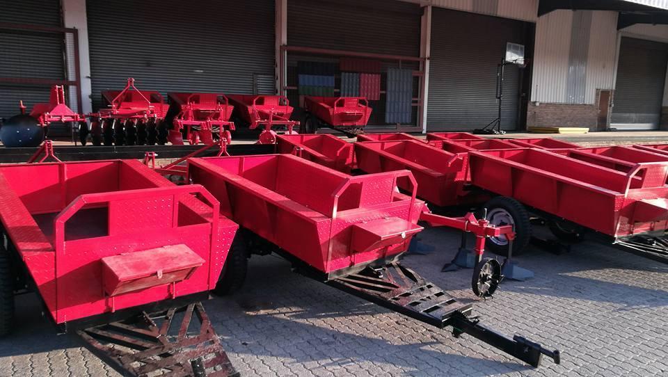 New C-1.5 ton utility trailer tractor drawn