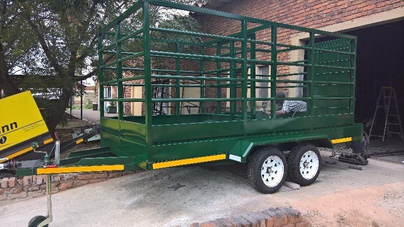 Cattle trailers custom built from R25500
