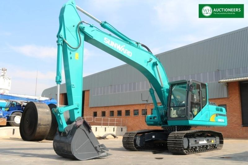 AUCTION: Construction Machinery Urgent