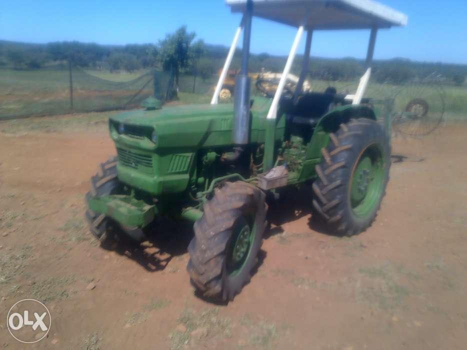 4x4 Kubota Tractor