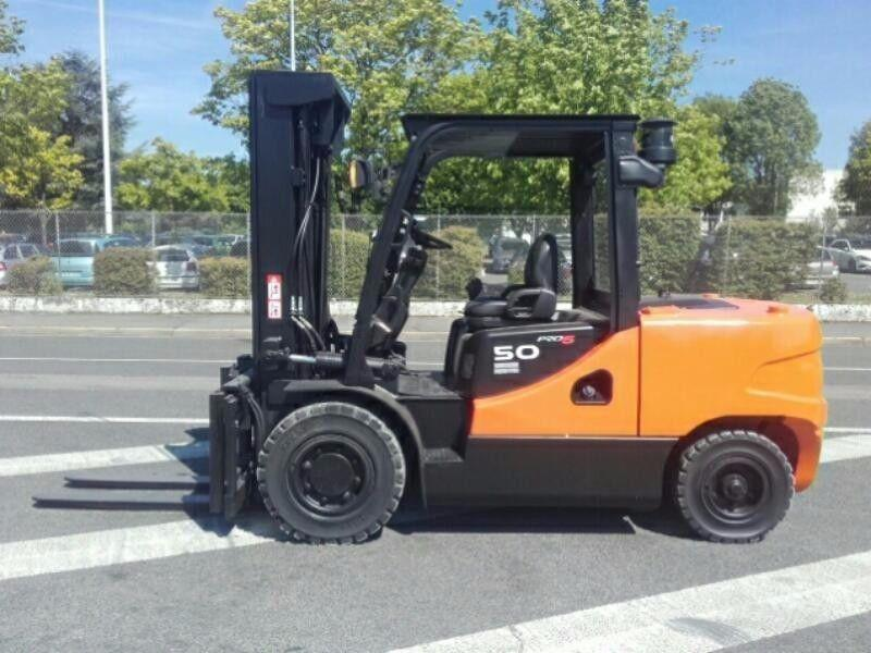DEMO MODEL 5 TON DOOSAN FORKLIFT FOR SALE