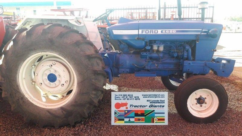 Ford 6600 Tractor used