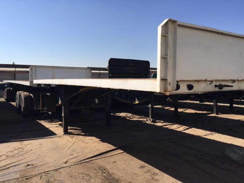 2008 SA truck bodies super link trailer