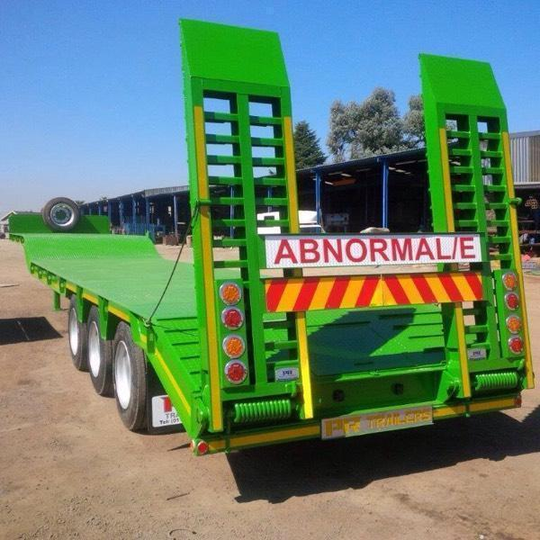New Step deck low bed trailers