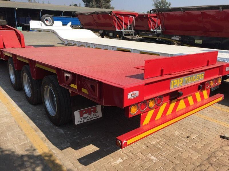 New PR trailers detachable low bed trailers