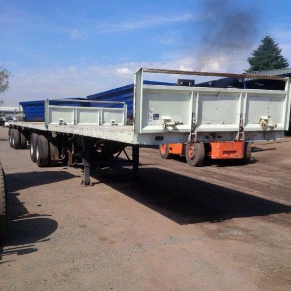 Super link flat deck trailers excellent condition