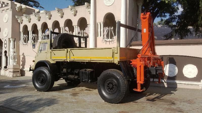 bedford 4x4 crane truck