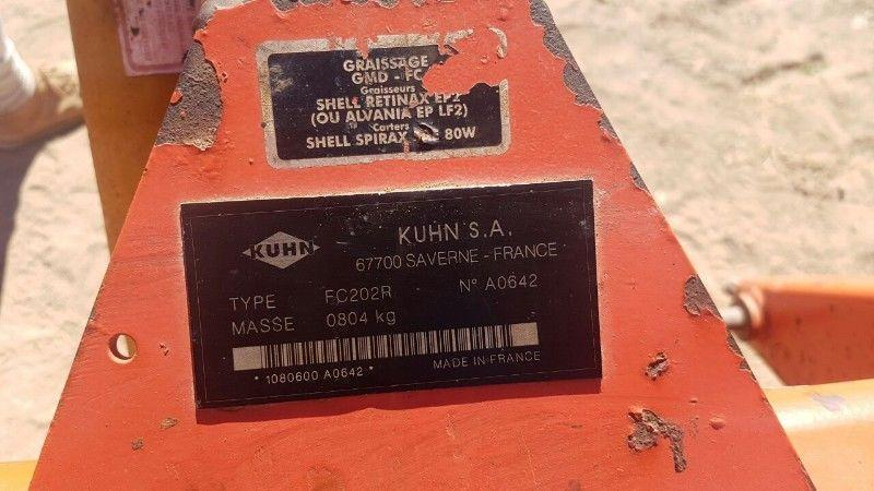 Kuhn FC202R Mower