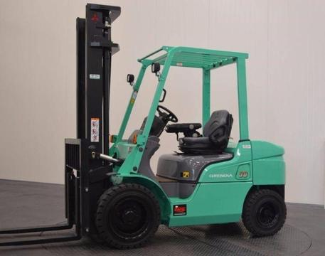 LATEST MODEL 2.5 TON MITSUBISHI GRENDIA FORKLIFT FOR SALE