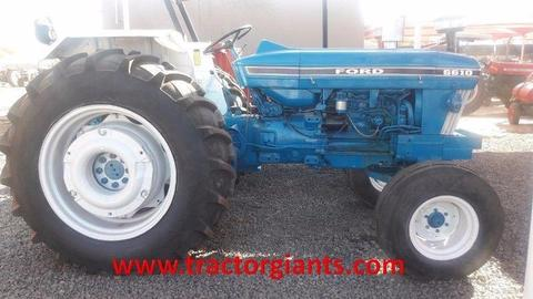 Ford 6610 used tractor
