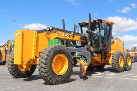 2008 ZCY732GP Bell 770G Grader 10918 Hrs: Construction, Truck & Trailer Live & Web Auction: 29 Aug