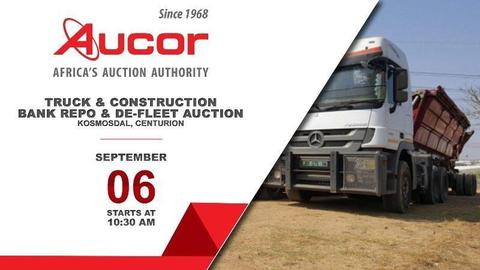 Kosmosdal,  - Truck & Construction Bank Repo & De-fleet Auction