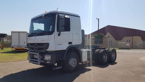 2011 Mercedes Benz 3344 Actros Mp3 6x4 Truck Tractor