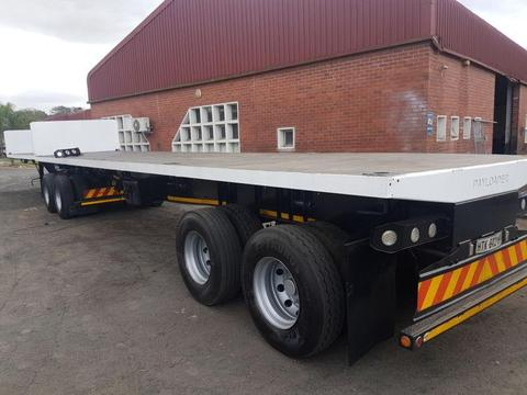 2015 Kearneys Flat deck superlink trailer