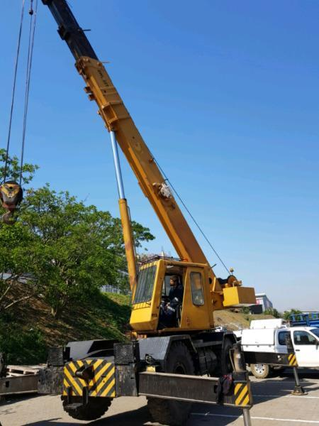 Grove Rt628s Rough terrain crane